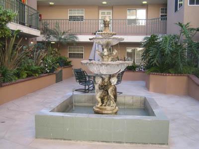 801 Pine Ave, Pine Plaza Fountain