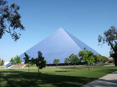 The Walter Pyramid at CSULB